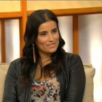Nelly Furtado wearing boxx cosmetics on Canada AM