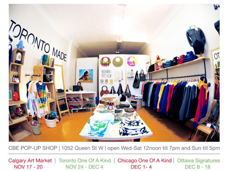 Visit Clothing Brand Experiment at their Pop-up Shop