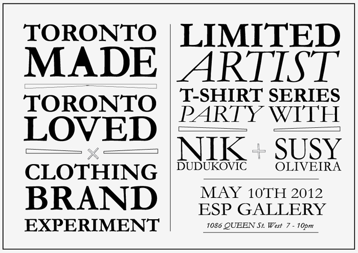 Join @CBEclothing this Thursday for a Limited Artist T-Shirt Launch
