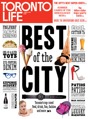 Our Artisans in the August issue of Toronto Life