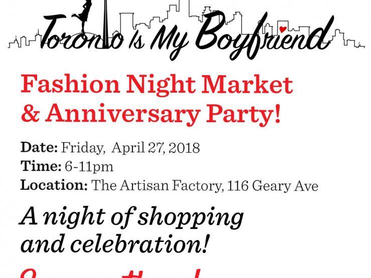 Fashion Night Market & Anniversary Party